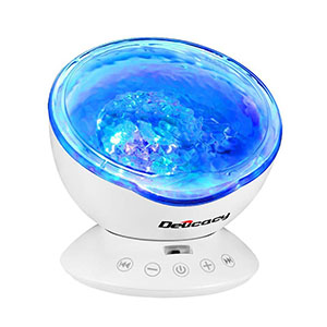 Best Projector Lamps Delicacy Ocean Wave 12 LED Remote Control Undersea Lamp